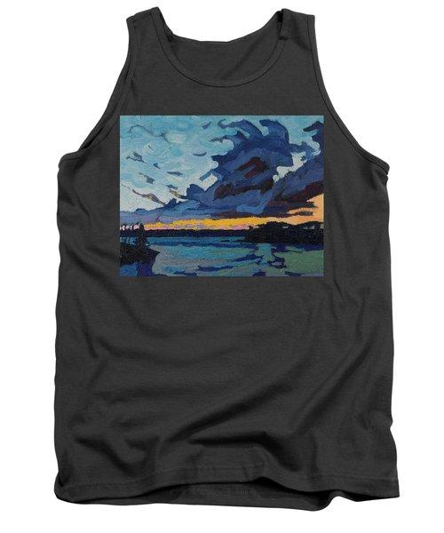 Singleton Sunset Stratocumulus Tank Top