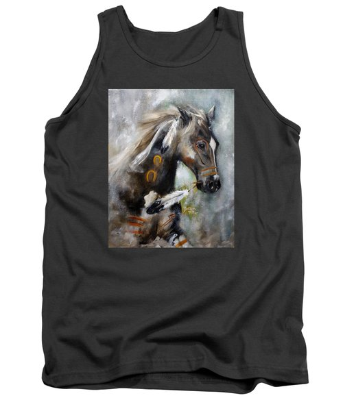 Sioux War Pony Tank Top by Barbie Batson
