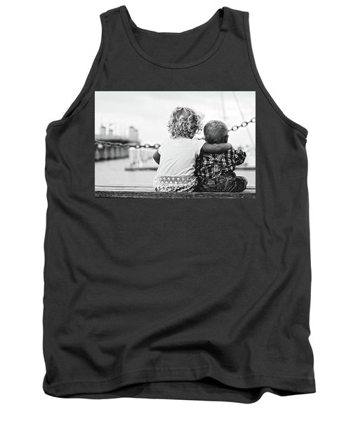 Sister And Brother Tank Top by Thomas M Pikolin