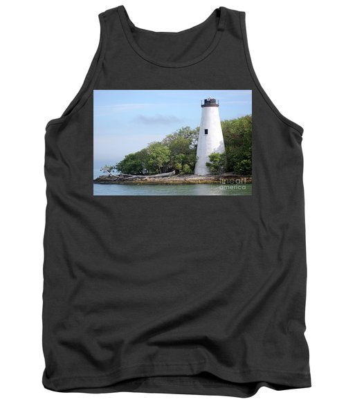 Sister Island Lighthouse Tank Top by The Art of Alice Terrill