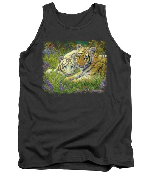 Sisters Tank Top by Lucie Bilodeau