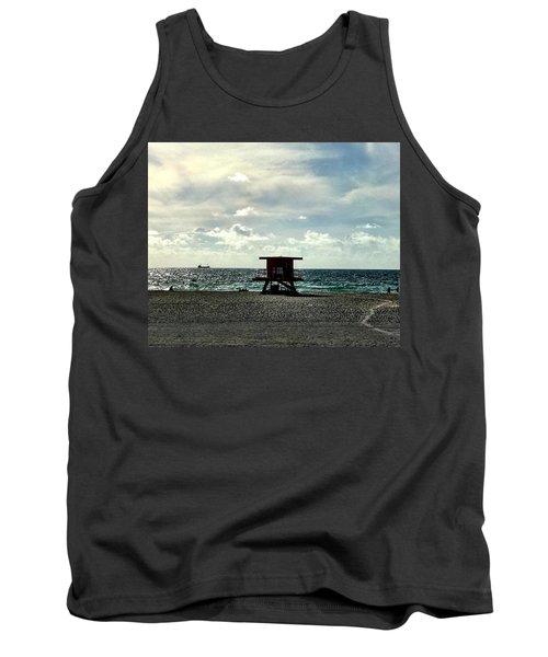 Sitting On The Beach Tank Top