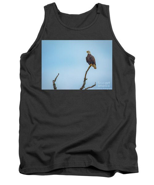 Sitting Patiently Tank Top by John Roberts