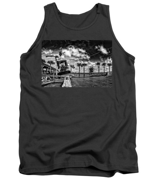 Skate Pushing The Boundries Tank Top
