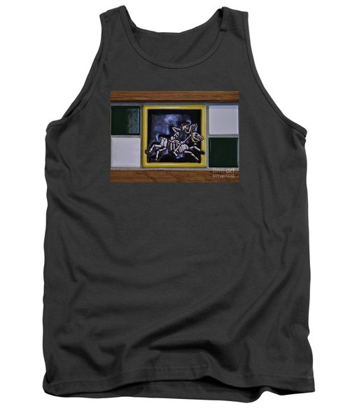 Skeleton Horse Tank Top