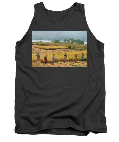 Skn 2617 Family Business Color Tank Top