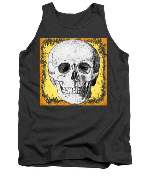 Skull Tank Top by Alice Gipson