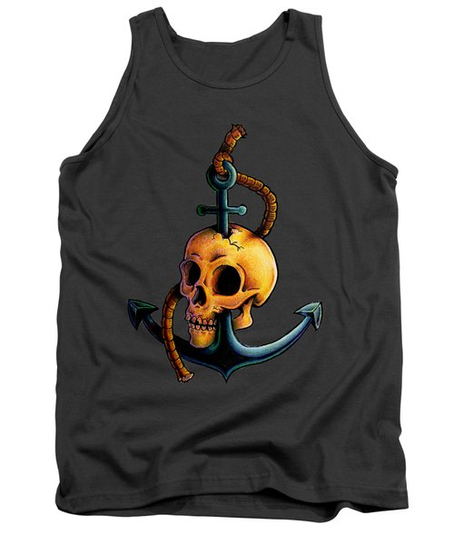 Skullchor Tank Top by Vicki Von Doom