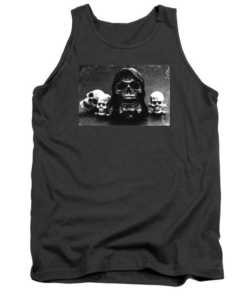 Skulls Tank Top by Martina Fagan