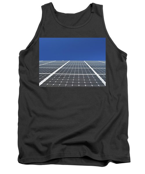 Sky Grid  Tank Top by Lyle Crump