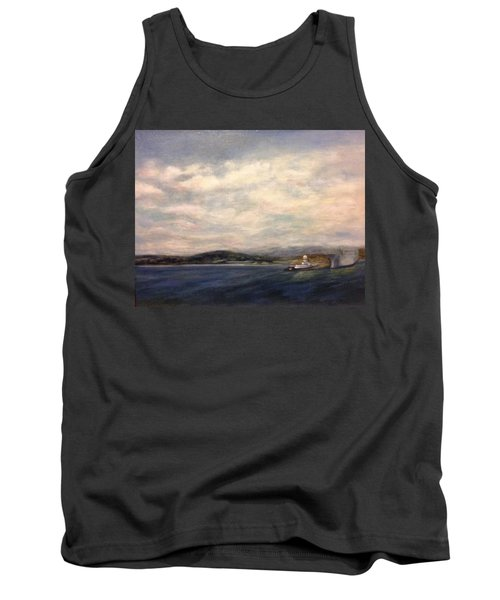 The Port Of Everett From Howarth Park Tank Top