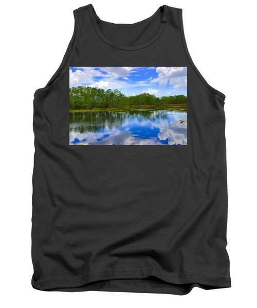 Sky Reflections Tank Top