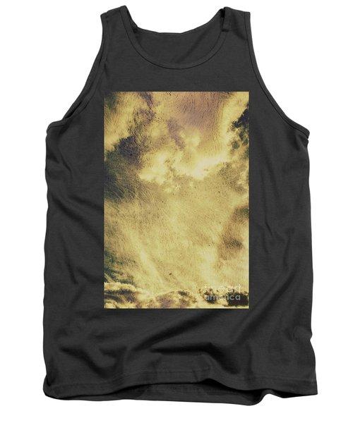 Sky Texture Background Tank Top