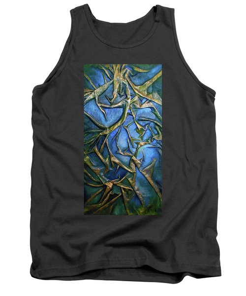 Sky Through The Trees Tank Top by Angela Stout