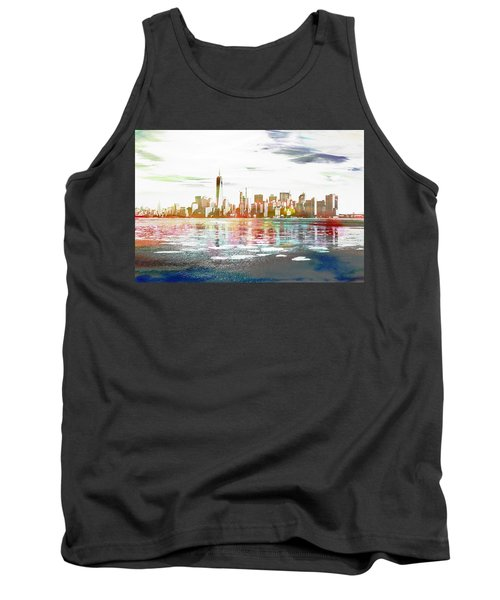 Skyline Of New York City, United States Tank Top