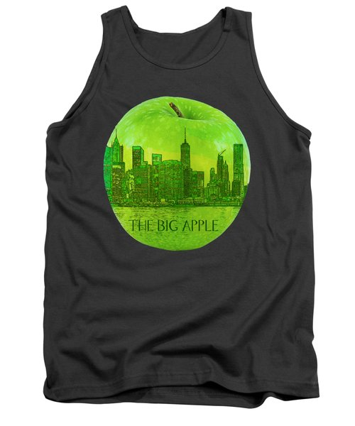 Skyline Of The Big Apple, New York City, United States Tank Top