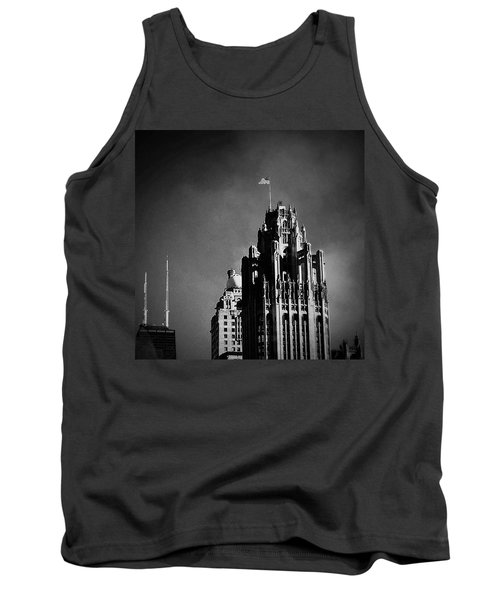 Skyscrapers Then And Now Tank Top