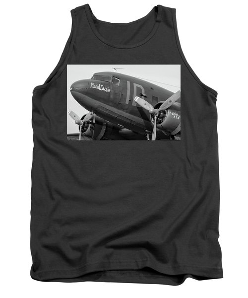 Skytrain In Black And White - 2017 Christopher Buff, Www.aviationbuff.,com Tank Top
