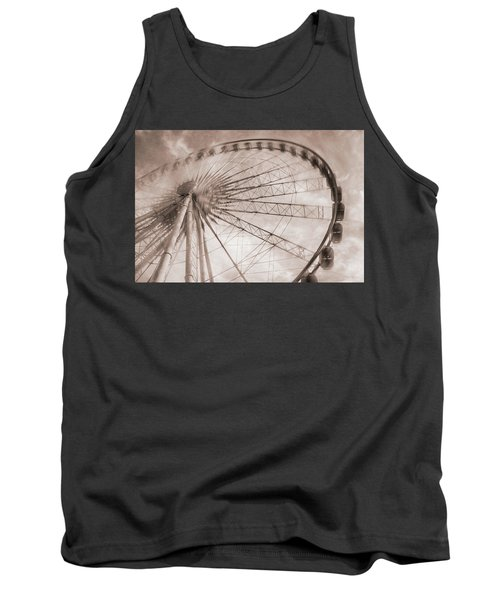 Skywheel In Niagara Falls Tank Top