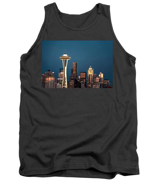 Tank Top featuring the photograph Sleepless In Seattle by Eduard Moldoveanu
