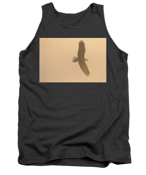 Slicing Through The Fog Tank Top by Brook Burling