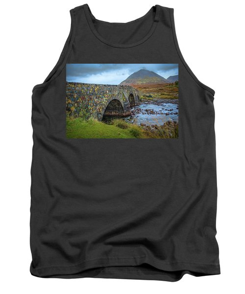Sligachan Bridge View #h4 Tank Top