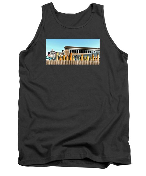Sloppy Tuna Restaurant, Montauk Long Island Tank Top