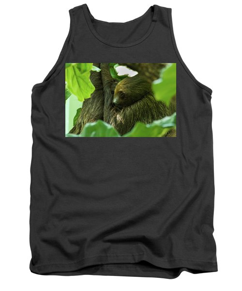 Sloth Sleeping Tank Top