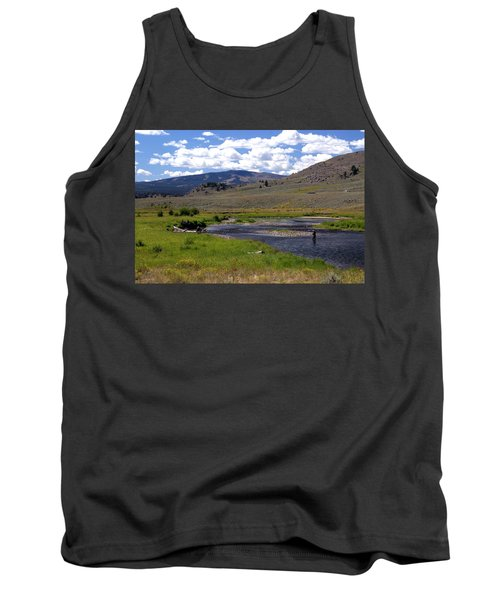 Slough Creek Angler Tank Top by Marty Koch