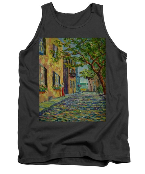 Farmer's Daughter  Tank Top by Dorothy Allston Rogers
