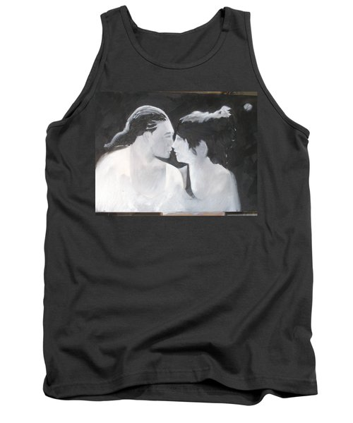 Tank Top featuring the painting Slowly Captivated by Keith Thue