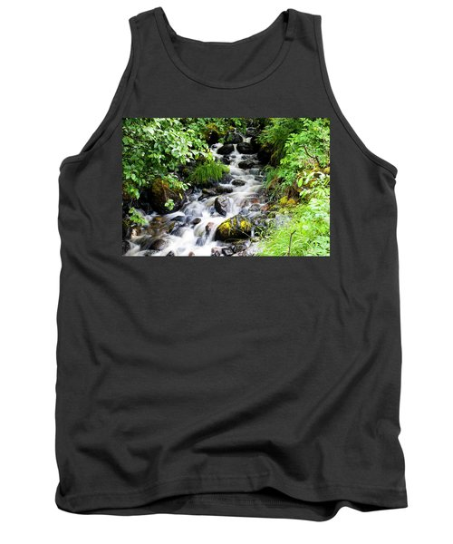 Small Alaskan Waterfall Tank Top