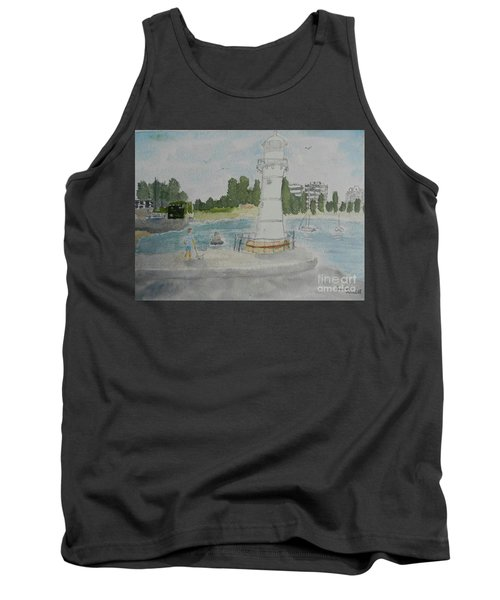 Small Lighthouse One Belmore Basin Tank Top