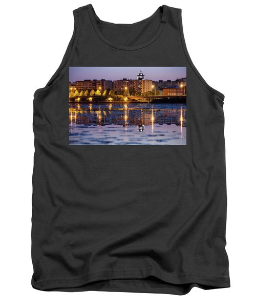 Small Town Skyline Tank Top