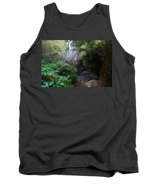 Tank Top featuring the photograph Small Waterfall by Ricardo J Ruiz de Porras