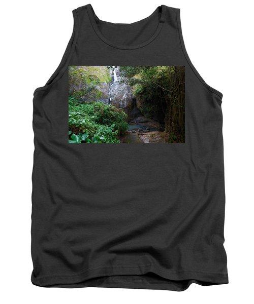 Small Waterfall Tank Top