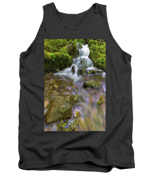 Small Waterfalls Along Wahkeena Creek Tank Top