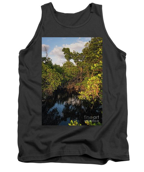 Small Waterway In Vitolo Preserve, Hutchinson Isl  -29151 Tank Top