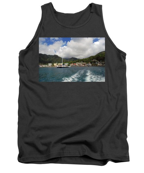 Tank Top featuring the photograph Smalll Village by Gary Wonning