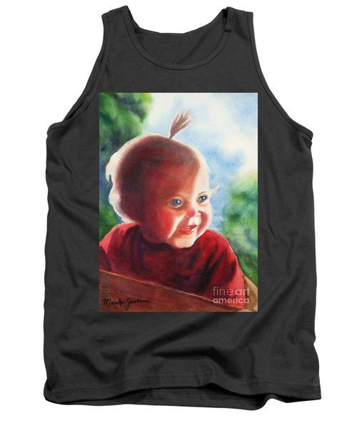 Smile Tank Top by Marilyn Jacobson