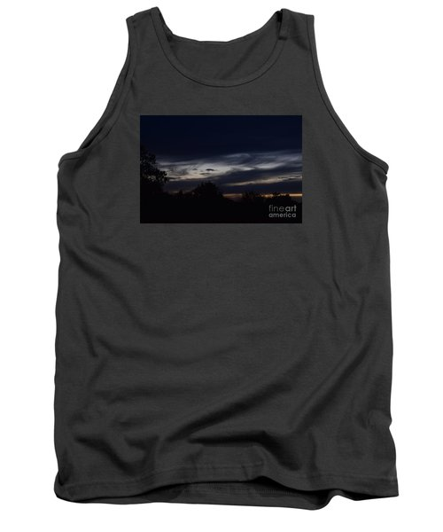 Smiling Cloud Baby Tank Top by Mark McReynolds