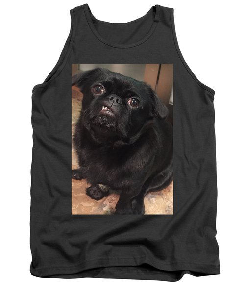 Smiling For Treats Tank Top by Paula Brown