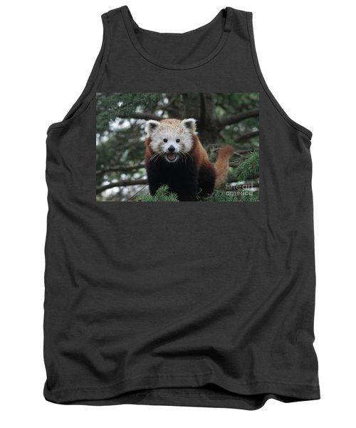 Smiling Red Panda #2 Tank Top