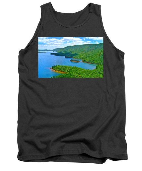 Smith Mountain Lake Poker Run Tank Top by American Shutterbug Soccity