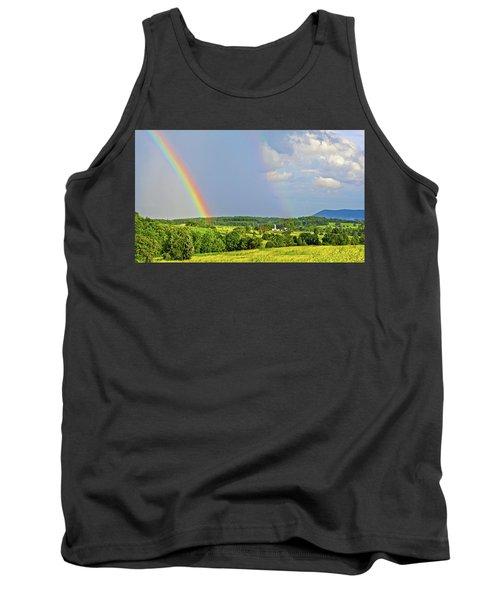 Smith Mountain Lake Rainbow Tank Top