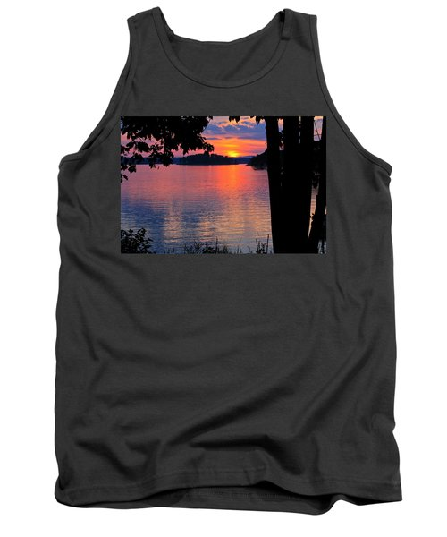 Smith Mountain Lake Sunset Tank Top