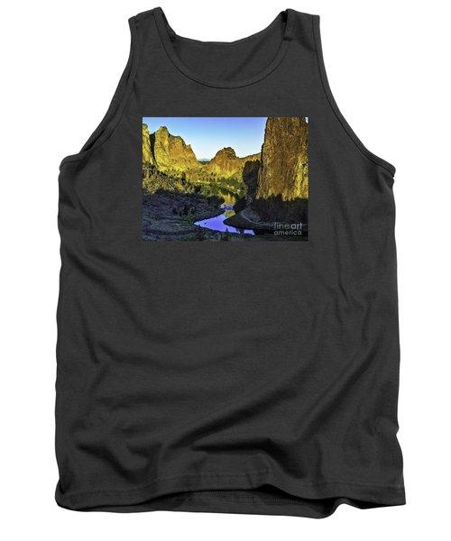 Smith Rock, Oregon Tank Top by Nancy Marie Ricketts
