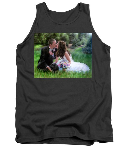 Smith Wedding Portrait Tank Top by Jane Girardot