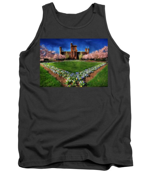 Spring Blooms In The Smithsonian Castle Garden Tank Top