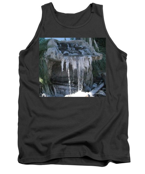 Smokey Stoves Frozen Falls Tank Top by Marie Neder